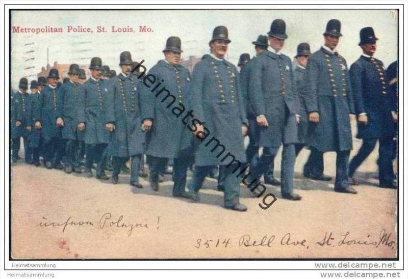 Missouri - St. Louis Mo. - Missouri - Metropolitan Police