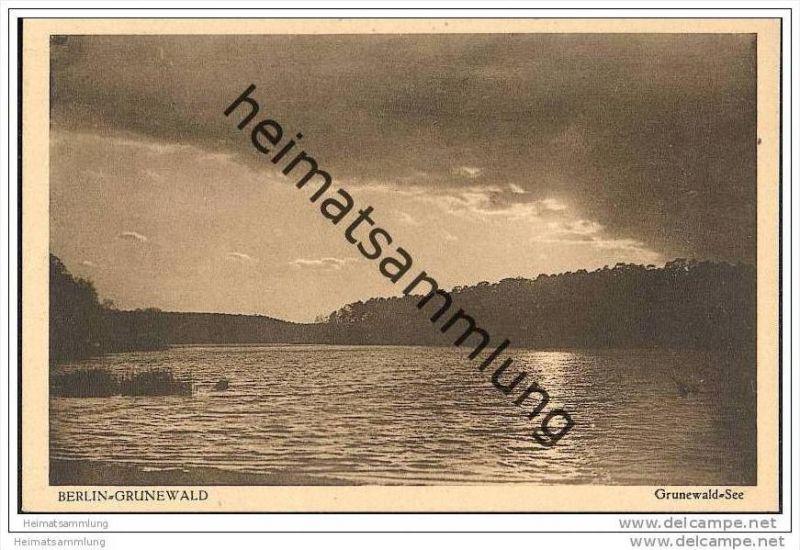 Berlin-Grunewald - Grunewaldsee