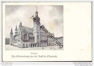 Chemnitz - Rathaus - Zur Erinnerung an die Rast in Chemnitz