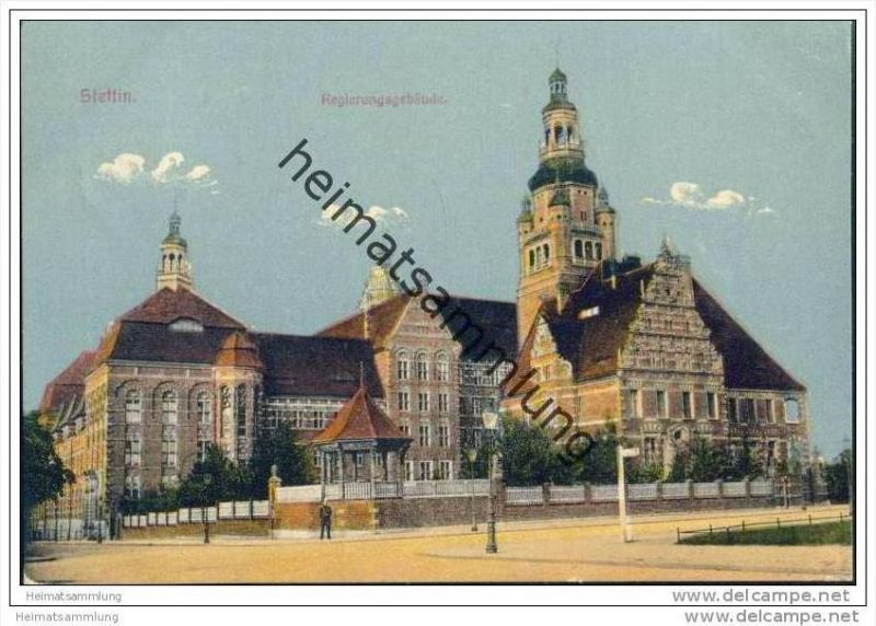 Stettin - Regierungsgebäude