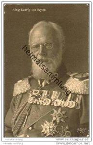 König Ludwig von Bayern - Wohlfahrtskarte