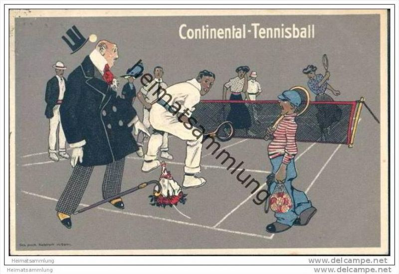 Continental - Cautchouc und Gutta -Percha-Co. - Tennisball