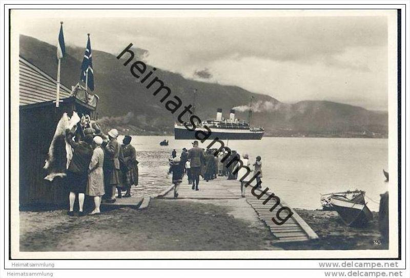 Aandalsnes - Foto-AK 30er Jahre