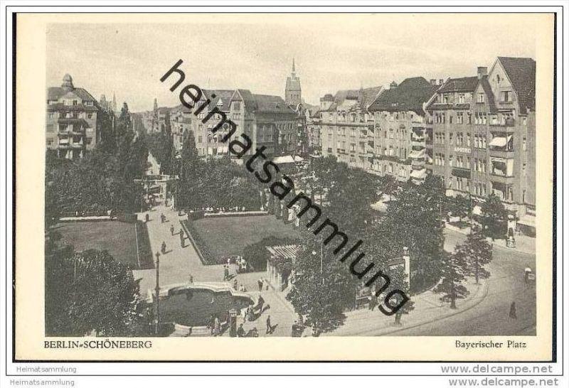 Berlin-Schöneberg - Bayrischer Platz