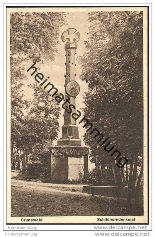 Berlin-Grunewald - Schildhorndenkmal