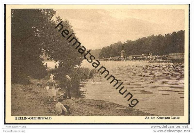 Berlin-Grunewald - An der Krummen Lanke