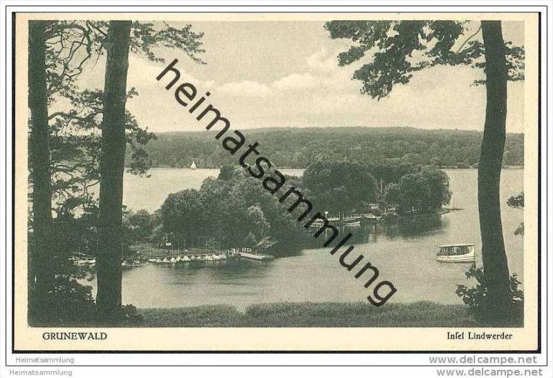 Berlin-Grunewald - Insel Lindwerder