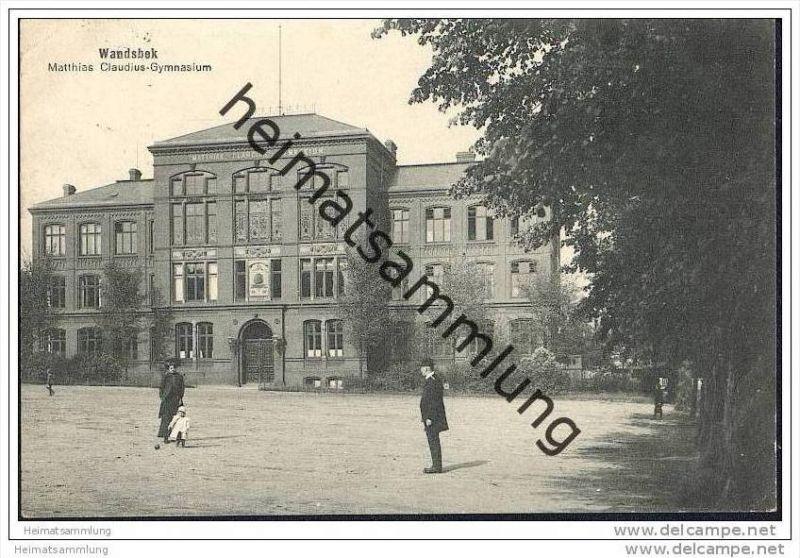 Hamburg Wandsbek Matthias Claudius Gymnasium Nr 608464042