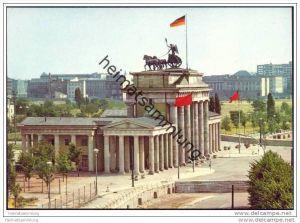 Berlin - Mauer - Brandenburger Tor