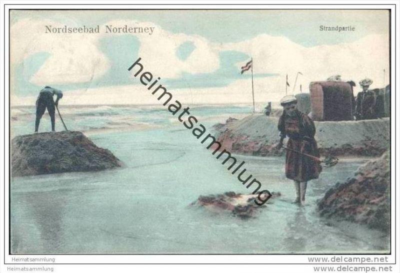 Norderney - Strandpartie