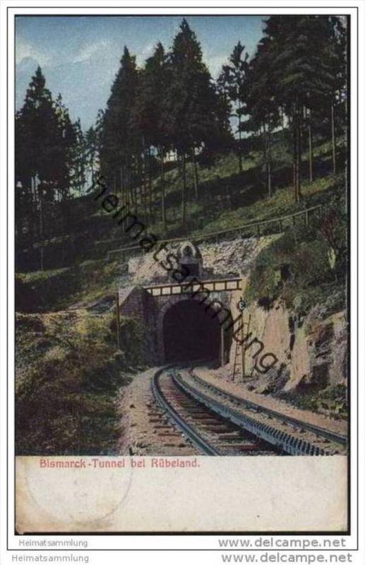 Rübeland - Bismarck-Tunnel - Harz-Zahnrad-Bahn
