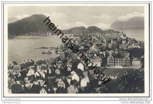 Aalesund - Foto-AK 30er Jahre