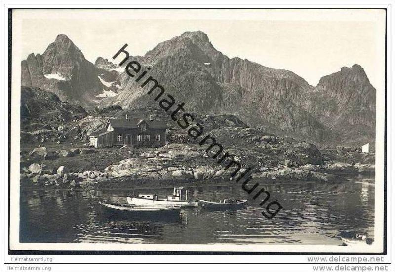 Lofoten - Foto-AK 30er Jahre
