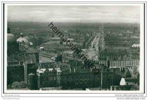 Berlin-Mitte über den Dächern - Foto-AK 30er Jahre