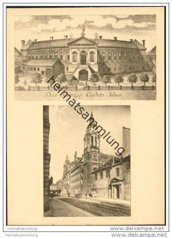 Berlin - Einst und jetzt - Altes Kadettenhaus und Amts- und Landgericht Mitte