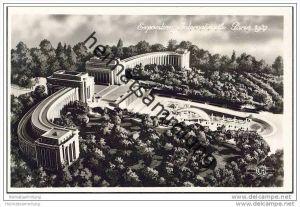 Paris - Exposition Internationale 1937 - Le Palais du Trocadero et les Bassins - Foto-AK