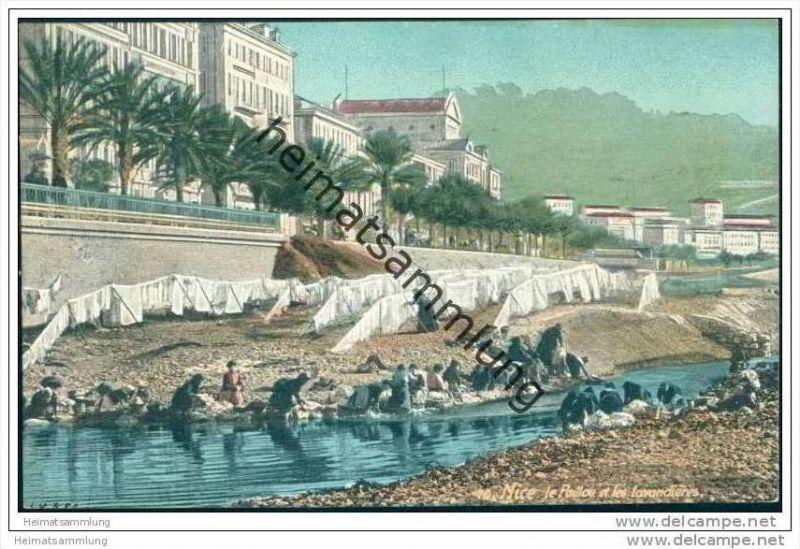 Nice - Le Paillon et Les Lavandieres