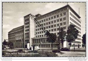 Berlin-Charlottenburg - Berliner Zentralbank - Bismarckstrasse - Foto-AK 50er Jahre