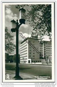 Berlin-Charlottenburg - Bismarckstrasse - Foto-AK 50er Jahre