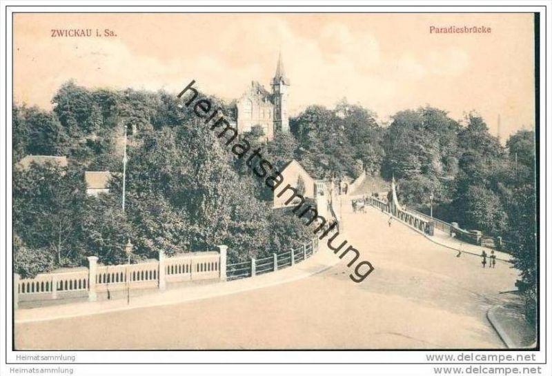 Zwickau - Paradiesbrücke