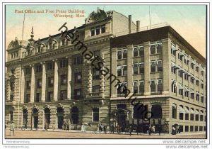Winnipeg - Post Office and Free Press Building