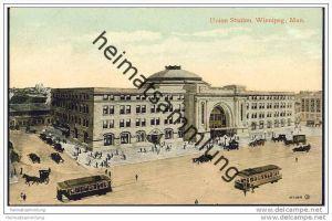 Winnipeg - Union Station - Strassenbahn