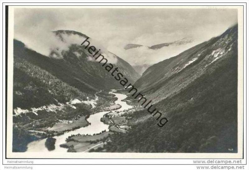 Aandalsnes - Foto-AK 20er Jahre