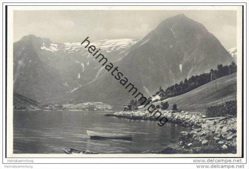 Essefjord - Foto-AK 20er Jahre