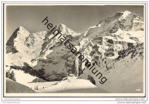 Eiger - Mönch und Jungfrau - Foto-AK
