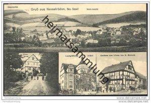 37293 Nesselröden - Gasthaus zum Löwen - Pfarrhaus - Schloss