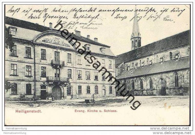 Heiligenstadt Eichsfeld - Evang. Kirche - Schloss
