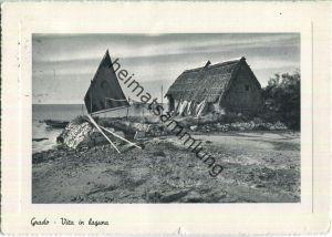 Grado - Vita in Laguna - Grossformat 50er Jahre - Ed. Fiumano Grado