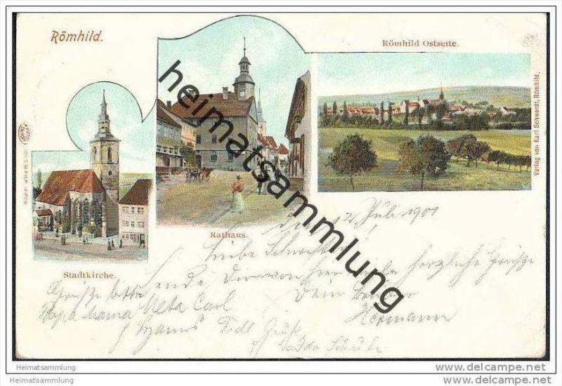 Römhild - Stadtkirche - Rathaus