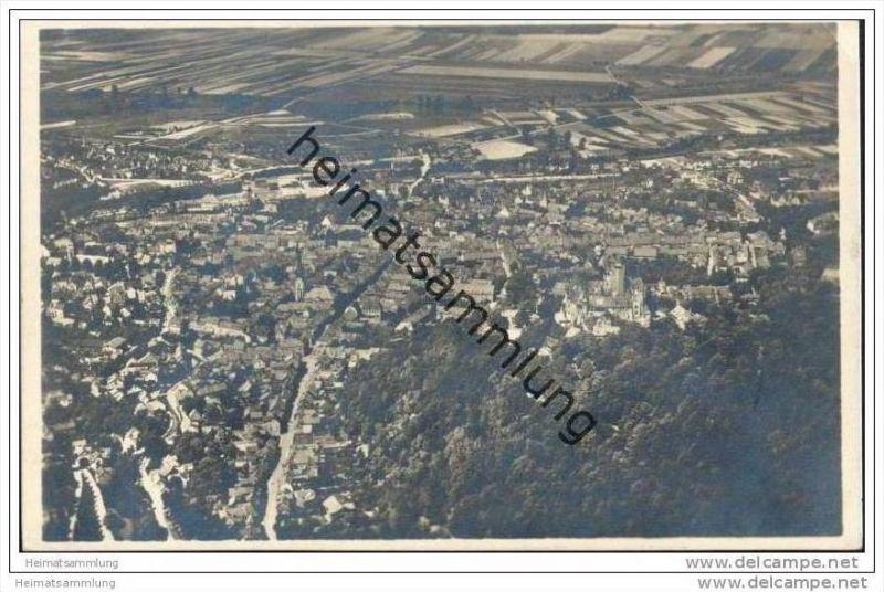 Wernigerode - Fliegeraufnahme - Foto-AK 30er Jahre