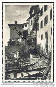 Gandria - Foto-AK 30er Jahre
