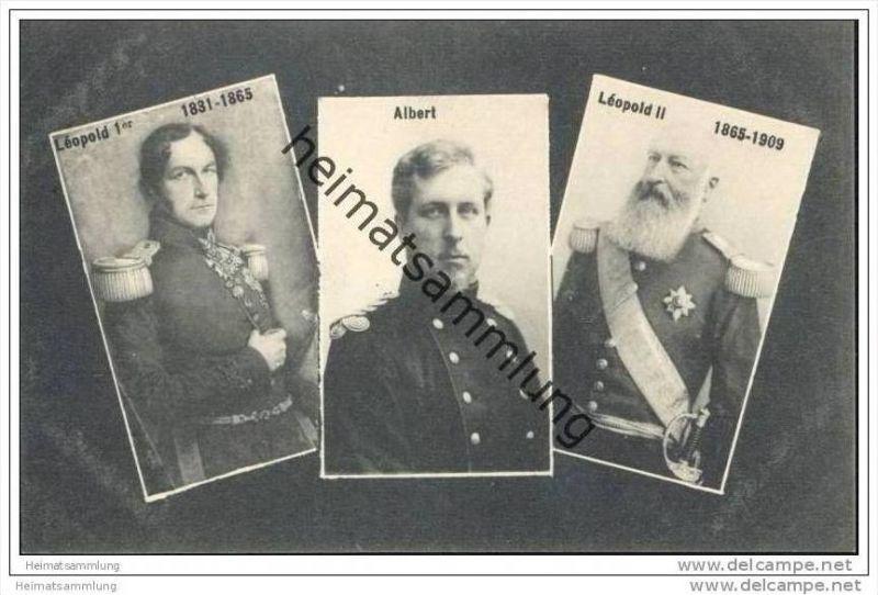 Belges - Léopold Ier - Albert - Léopold II