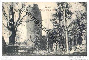 Friedrichroda - Ruine Schauenburg