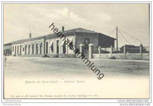 Santiago de Cuba - Estacion del Ferro-Carril - Railroad Station ca. 1900