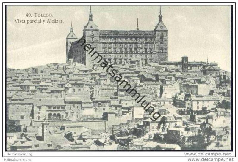 Toledo - Vista parcial y Alcazar