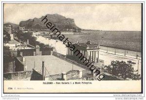 Palermo - Foro Umberto I e Monte Pellegrino