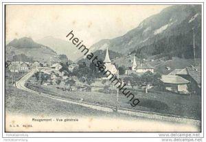 Rougemont - vue generale ca. 1910