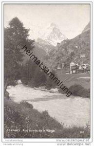Zermatt - Aux bords de la Viege