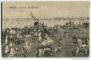 Libyen - Bengasi - Il mercato del bestiame