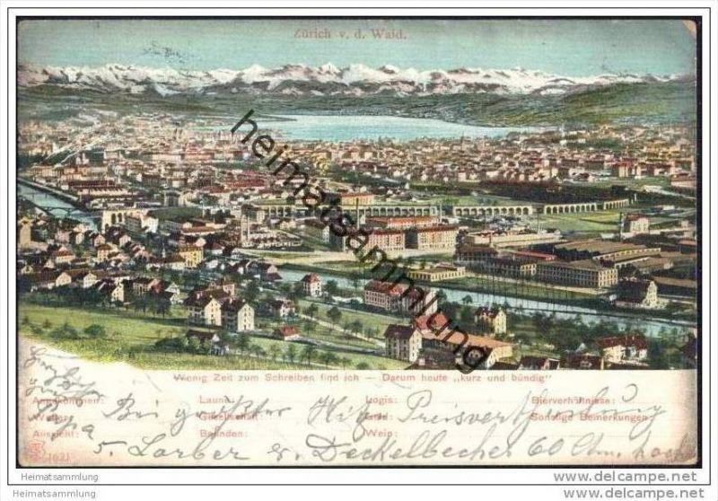 Zürich v. d. Waid
