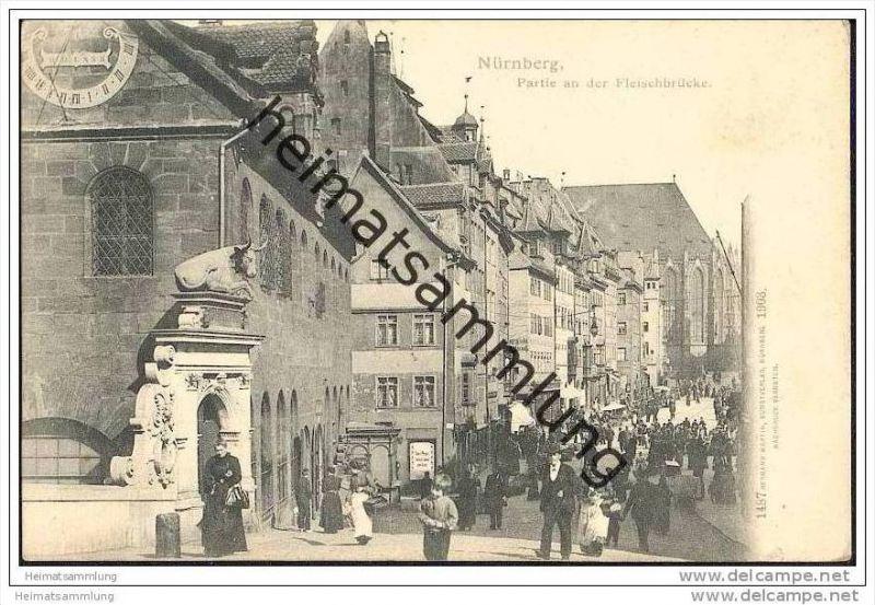 Nürnberg - Fleischbrücke