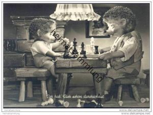 Mecki - Ich hab Dich schon durchschaut - Nr. 178 - Schach