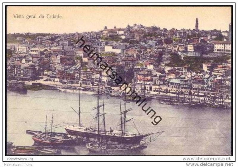 Portuguesa - Porto - Vista geral da Cidade