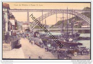 Portuguesa - Porto - Caes da Ribeira e Ponte D. Luiz