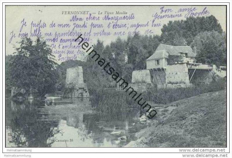 Vernon-Vernonnet - Le Vieux Moulin
