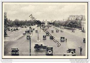 Buenos Aires - Avenida Alvear y Monumento de los Espanoles